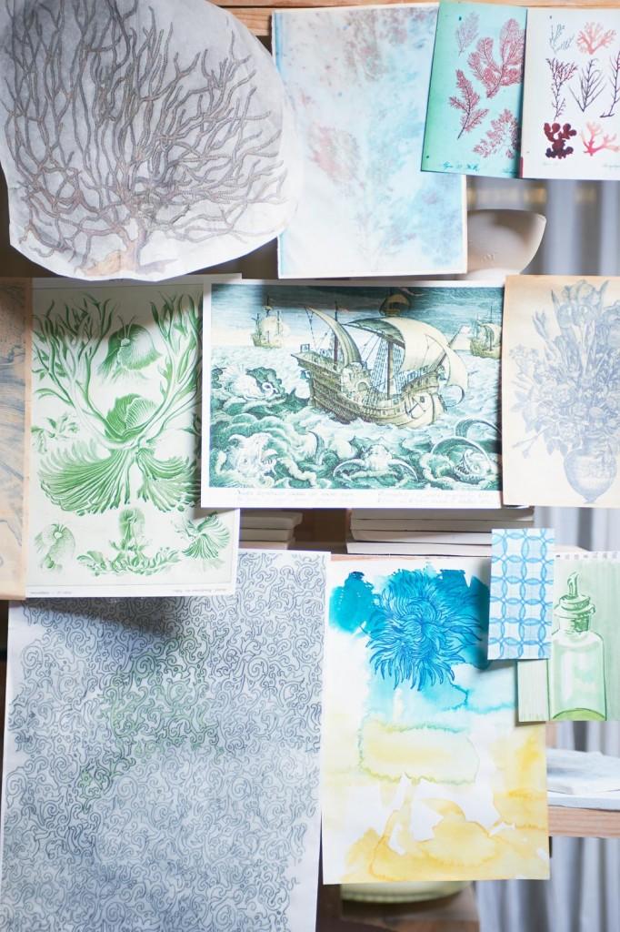 Artist José den Hartog, Styling LINDIVIDU / Linda van der Ham, Photography Dennis Brandsma, Ariadne at Home, Sanoma