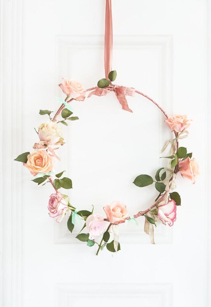 Flowers : Roozes Styling: LINDIVIDU / Linda van der Ham, Photography Dennis Brandsma, Ariadne at Home, Sanoma