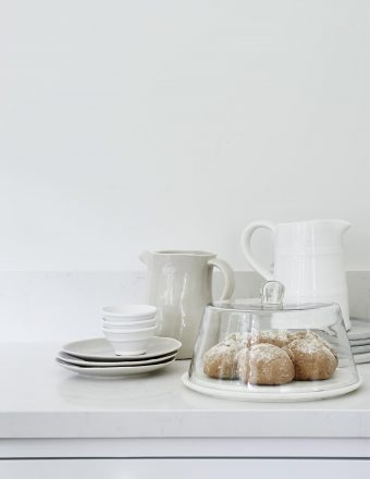 White romantic kitchen / Mandemakers keukens