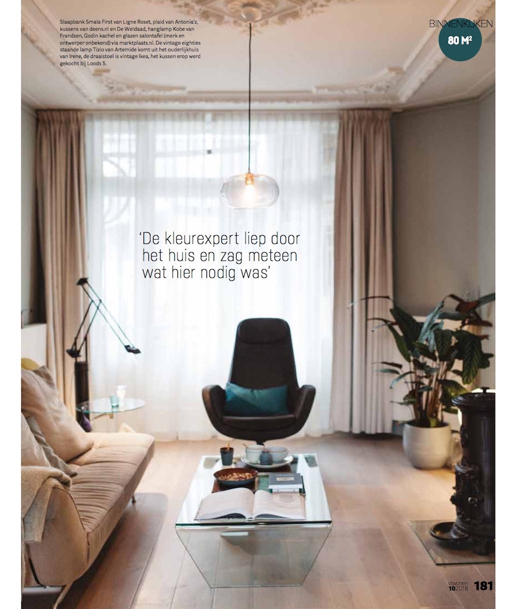 Design Salontafel Ligne Roset.Vt Wonen Lindividu Portfolio Of Linda Van Der Ham